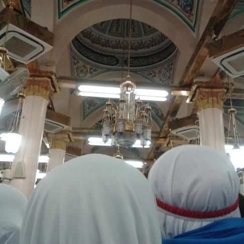Suasana dalam Raudhah